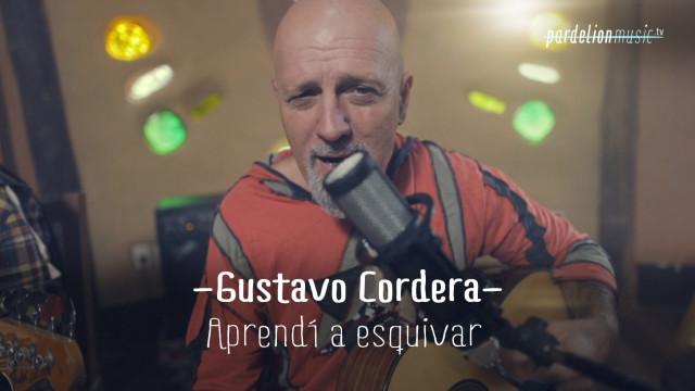 Gustavo Cordera – Aprendí a esquivar 2016 (acústica)