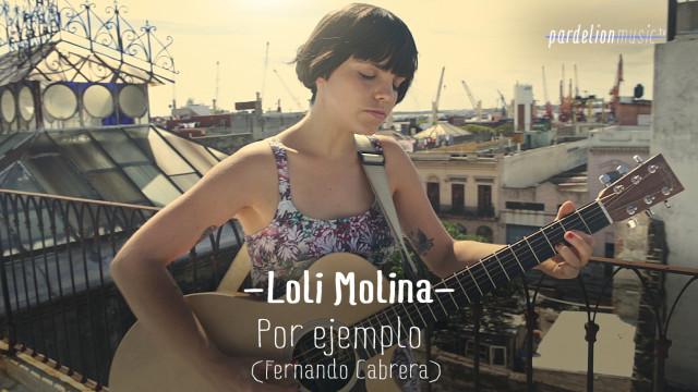 Loli Molina – Por ejemplo (Fernando Cabrera)