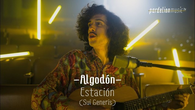 Algodón – Estación (Sui Generis) (Live on PardelionMusic.tv)